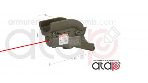 Laser et rail de montage pour beretta M9
