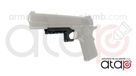 Rail de montage pour pistolet 1911