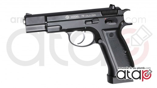 Pistolet CZ 75 a bille acier propulsion CO2