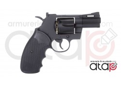 "KWC Model 357 Canon 2,5"" Revolver a Bille D'Acier"