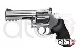 Dan Wesson 715 Canon 4 Pouces Silver Revolver À Plomb