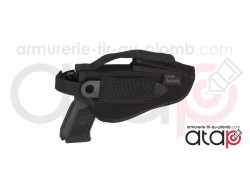 Holster de ceinture large pour pistolet ou revolver