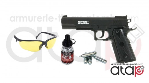 Pack Swiss Arms P1911 Match