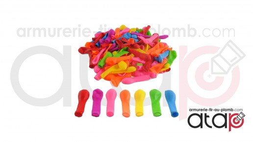 Sachets de 500 ballons gonflables pour tir au plomb
