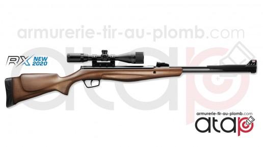 Carabine à plombs Stoeger RX40 4.5 mm 20 J à canon fixe équipée d'une lunette 3-9x40AO