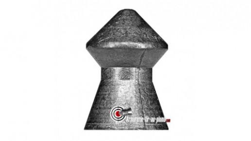 Munition arme a plomb H&N Spitzkugel pointus en 4,5mm