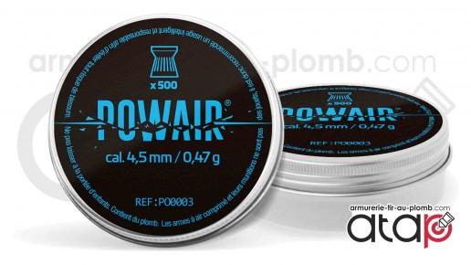 Powair Match Plomb 4.5 mm