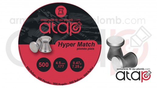 Plomb 4,5 mm Atap Hyper Match