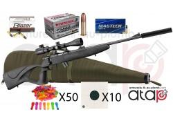 Pack prêt à tirer carabine 22 LR BO Manufacture Equality Maker