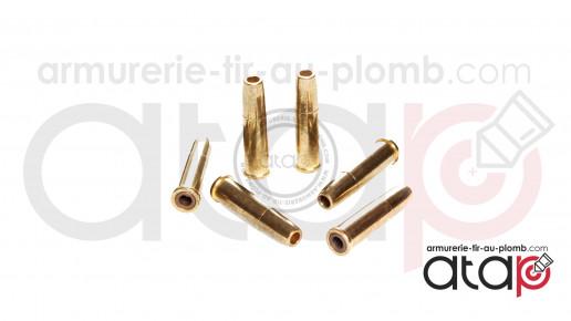 25 douilles plombs 4.5mm Dan wesson 715 et SR357