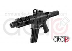Pistolet mitrailleur full auto à bille acier 4,5 mm Crosman A4P