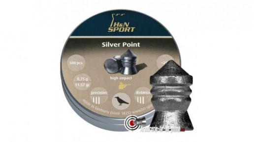 Plombs H&N Silver Point - 4.5 mm