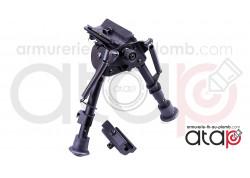 Bipied en métal ASG pour rail 22 mm et grenadière