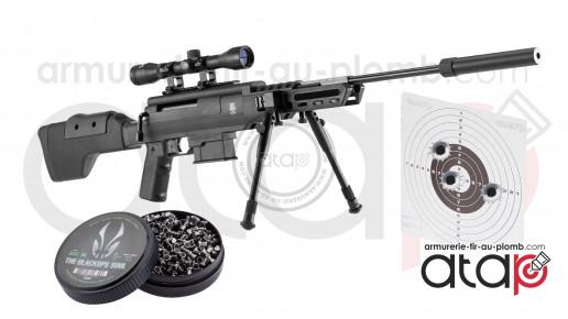 Pack Carabine à plombs BO Black Ops 20 joules