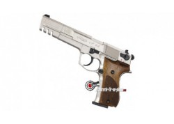 Walther CP88 Competition - nickel / crosse bois