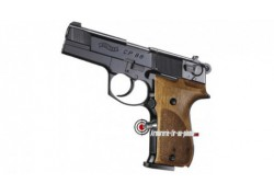 "Walther CP88 4"" - noir / crosse bois"