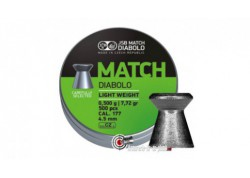 Plombs JSB Match Diabolo - 4.49 mm / Light Weight