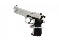 Beretta 92 FS - nickel mat pistolet CO2