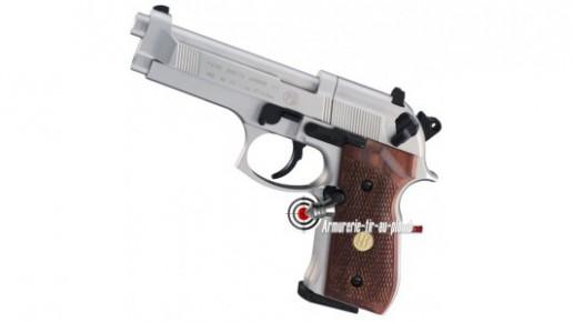 Beretta 92 FS - chromé crosse bois