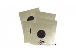 Lot de 50 cibles carton 17x17 cm