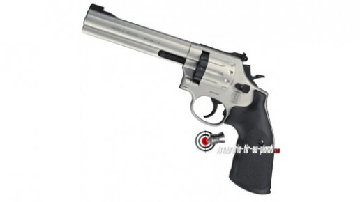 Smith & Wesson 686 nickel 6""