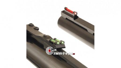 Visée montable à fibre optique pour bande ventilée