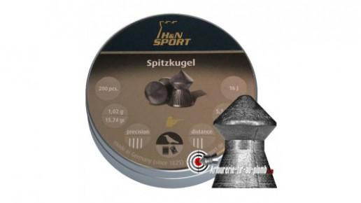 Plombs H&N Spitzkugel - 5.5 mm