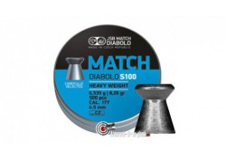 Plombs JSB Match Diabolo S100 - 4.50 mm / Heavy Weight