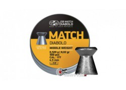 Plombs JSB Match Diabolo - 4.50 mm / Middle Weight