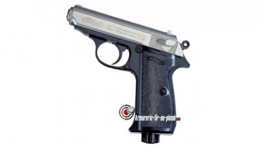 Walther PPK - Culasse nickel