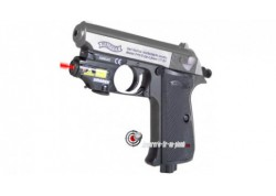 Walther PPK - Culasse nickel + laser pour 1 € supplémentaire