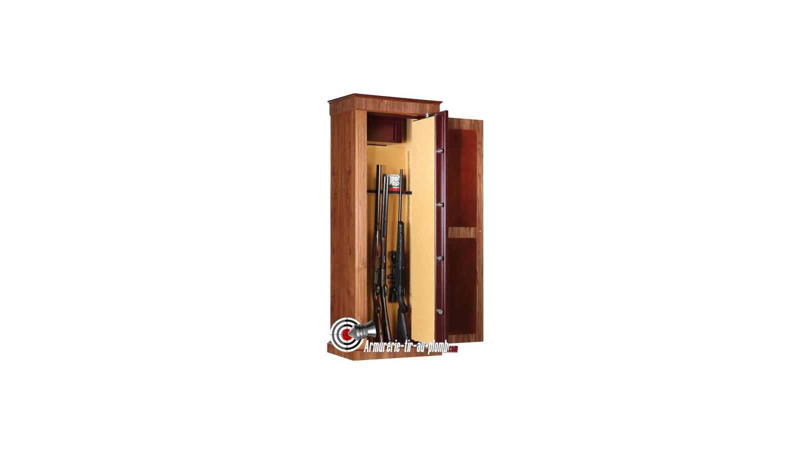 armoire forte infac wood cover safe 8 armes longues. Black Bedroom Furniture Sets. Home Design Ideas