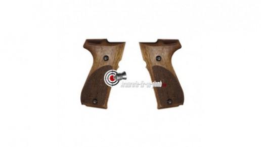 Plaquettes bois pour Walther CP88