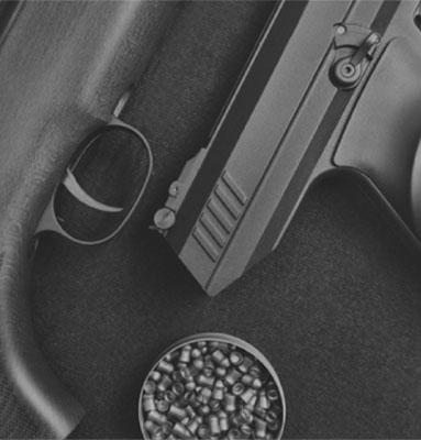 Un choix complet d'armes